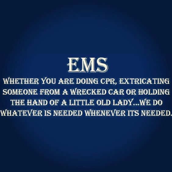 Lessons in EMS